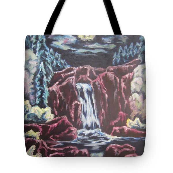 Listening To The Land Speak Tote Bag