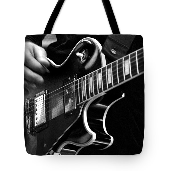 Listening To The Sweet Sounds Tote Bag