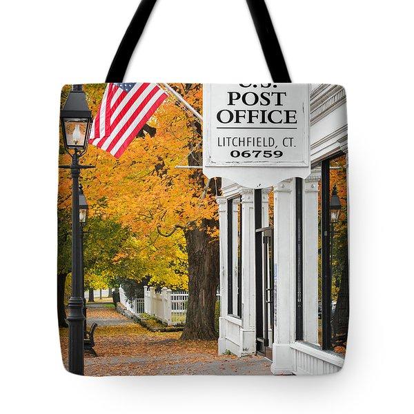 Litchfield Connecticut Tote Bag