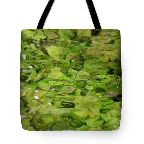 Lite Watery Green Tote Bag