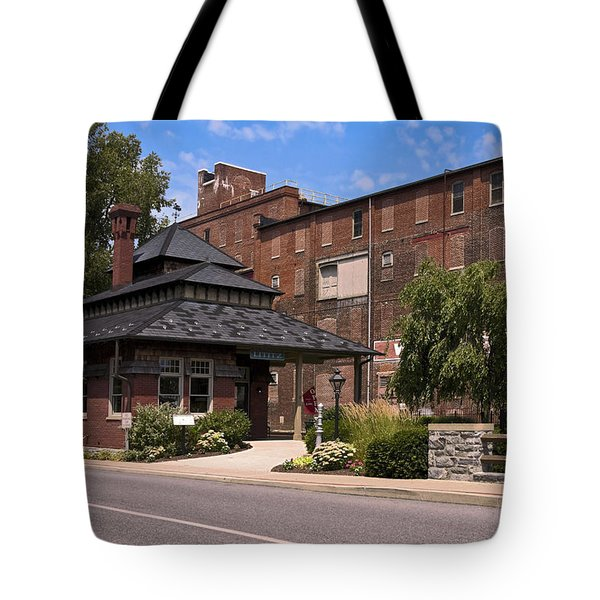 Lititz Pennsylvania Tote Bag by Sally Weigand