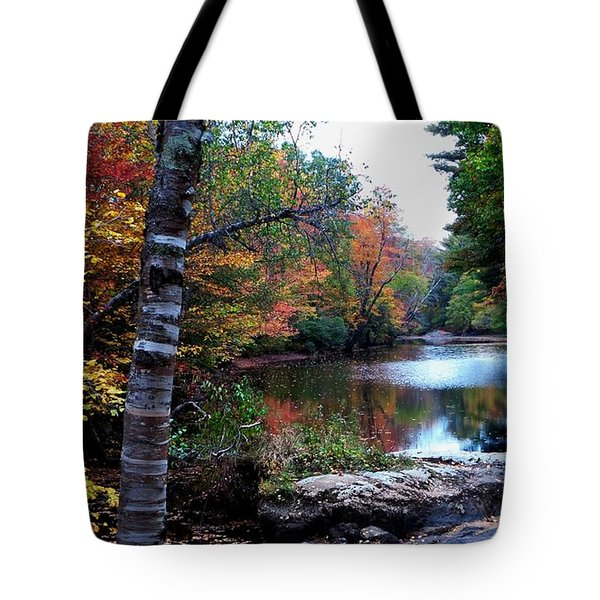 Little Androscoggin River Tote Bag