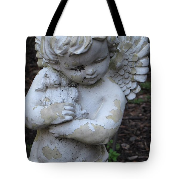 Tote Bag featuring the photograph Little Angel by Beth Vincent