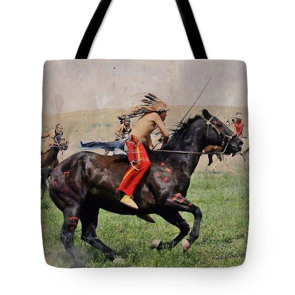 Little Bighorn Reenactment 1 Tote Bag