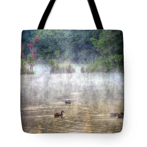 Tote Bag featuring the photograph Little Bit Of Fall by Charlotte Schafer