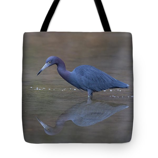 Little Blue Bubbles Tote Bag