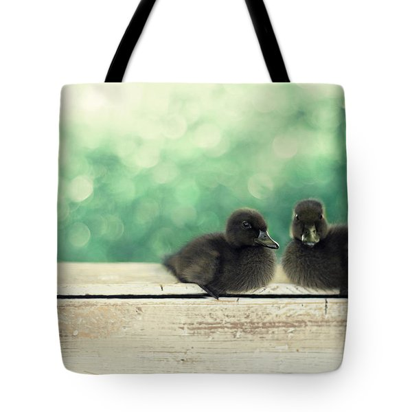 Little Buddies Tote Bag by Amy Tyler
