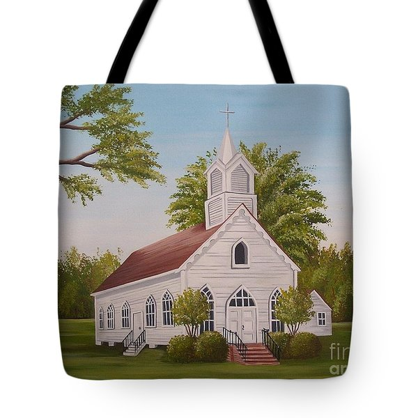 Little Chapel Tote Bag