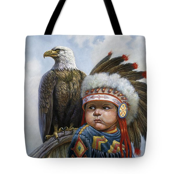Little Chief Tote Bag