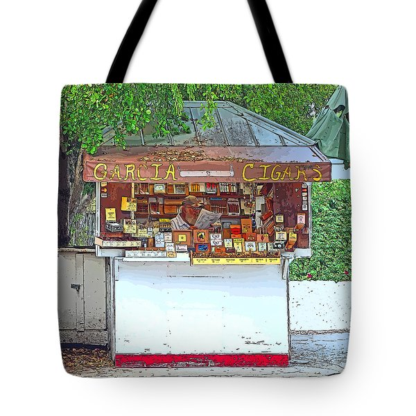 Little Cigar Shop Key West Tote Bag