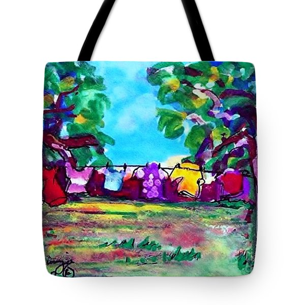 Little Clothing Line Tote Bag