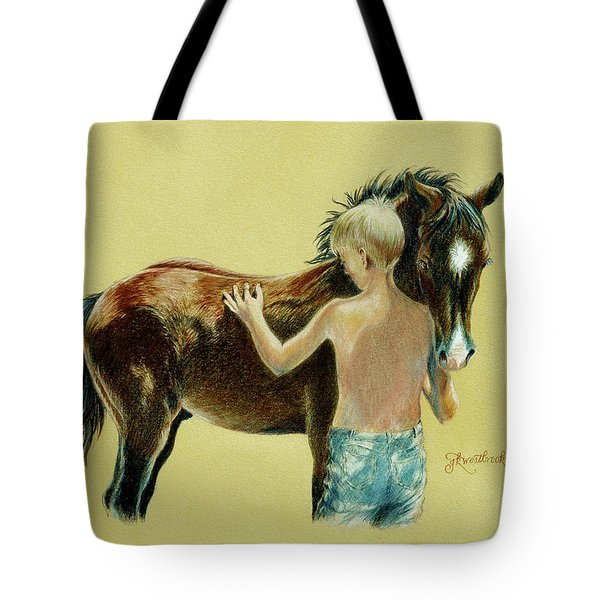 Little Colts Tote Bag