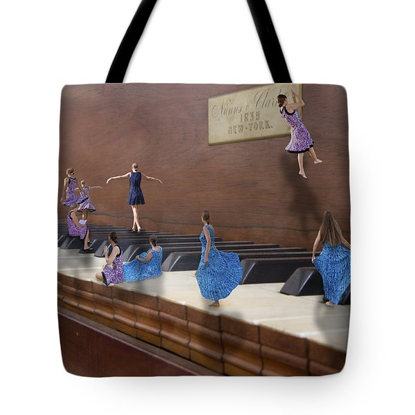 Little Composers IIi Tote Bag by Betsy Knapp
