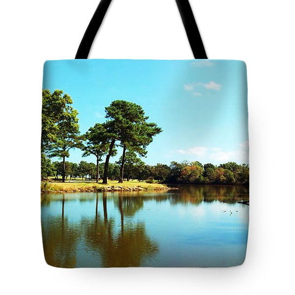 Tote Bag featuring the photograph Little Creek by Angela DeFrias
