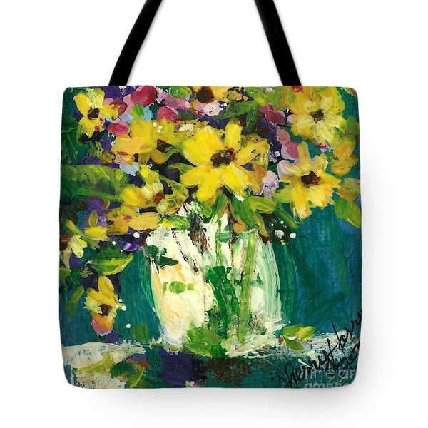 Little Daisies Tote Bag