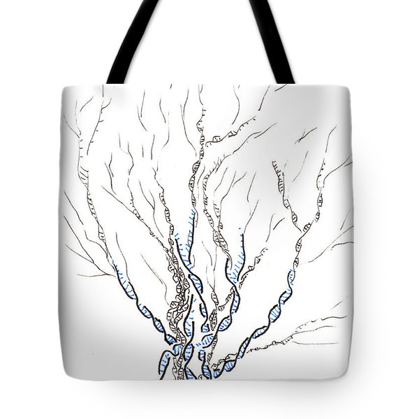Little Dna Tree Tote Bag