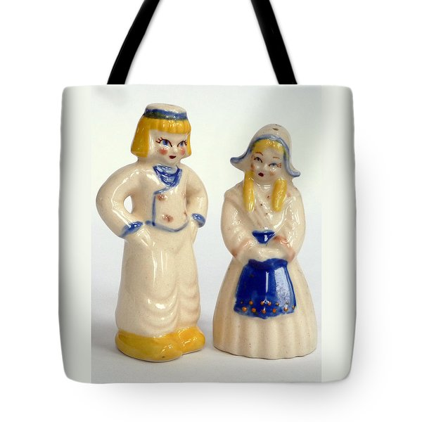 Tote Bag featuring the photograph Little Dutch Boy And Girl  by Jim Whalen