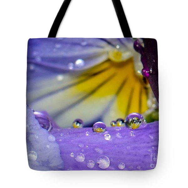 Little Faces Tote Bag by Amy Porter