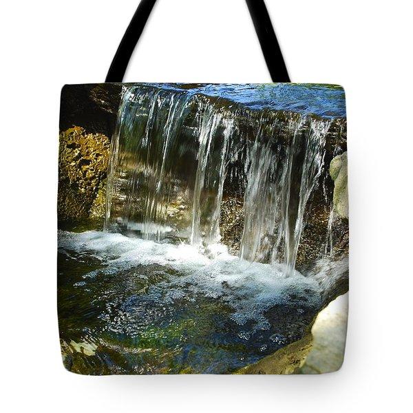 Little Falls 3 Tote Bag by Charlie Brock