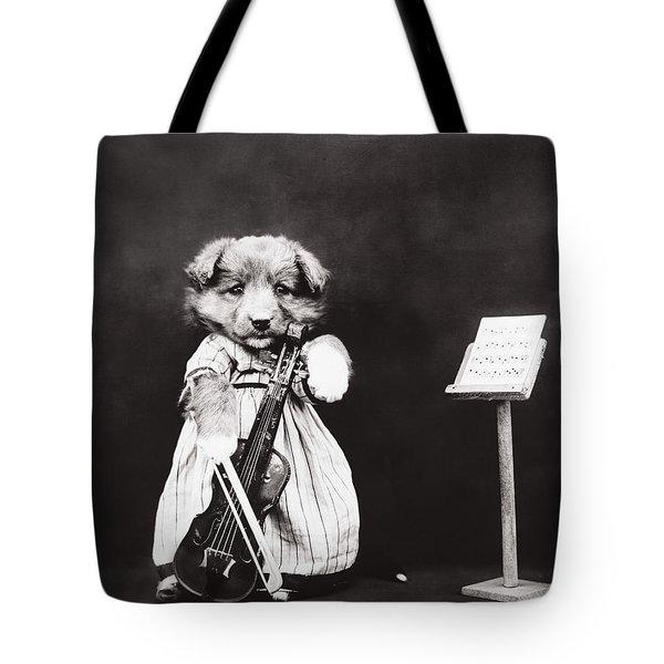 Little Fiddler Tote Bag by Aged Pixel