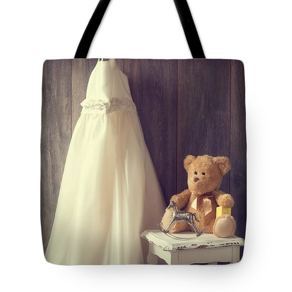 Little Girls Bedroom Tote Bag by Amanda Elwell