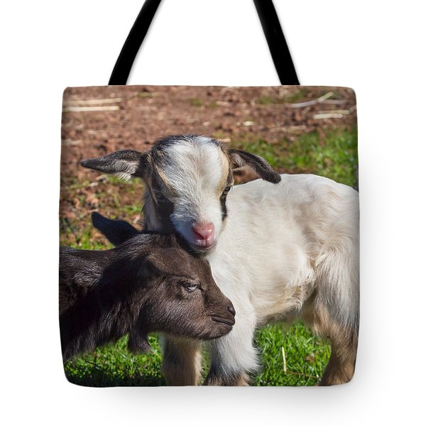 Little Goats Tote Bag