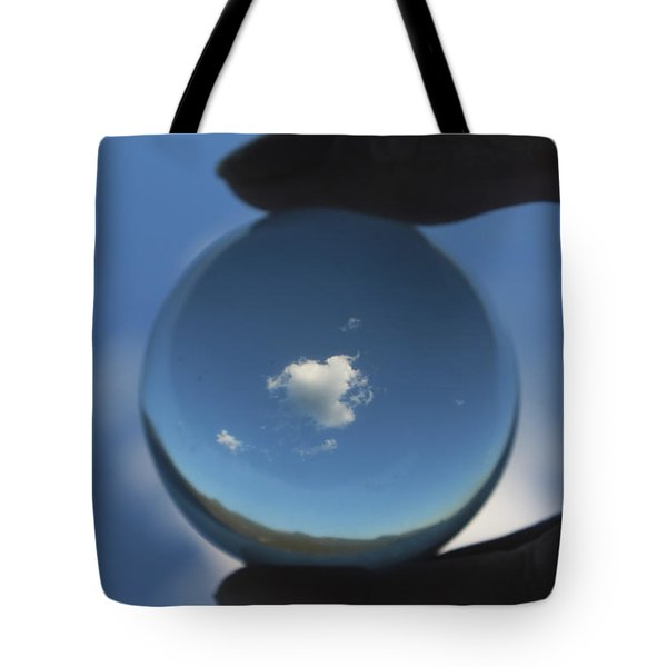 Little Heart Cloud Tote Bag by Cathie Douglas