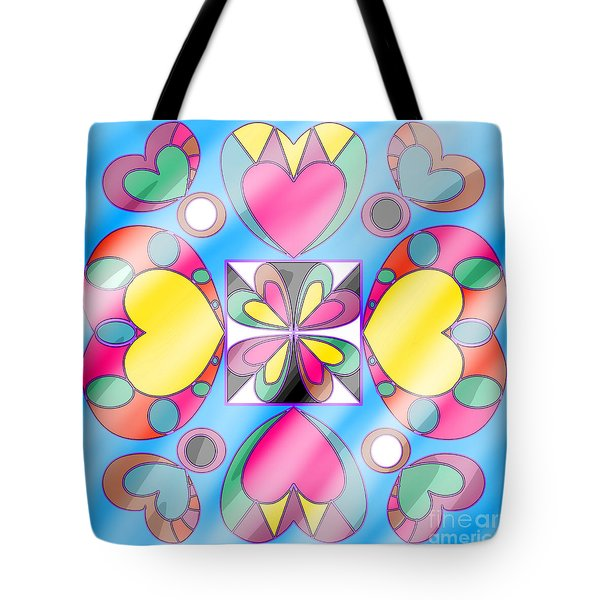 Little Hearts-5 Tote Bag