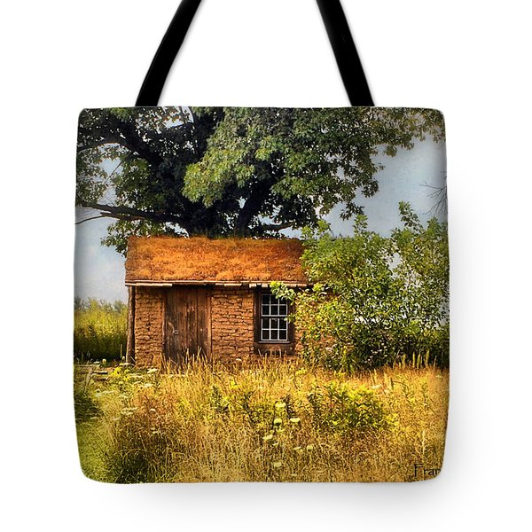 Tote Bag featuring the photograph Little House On The Prairie by Peggy Franz