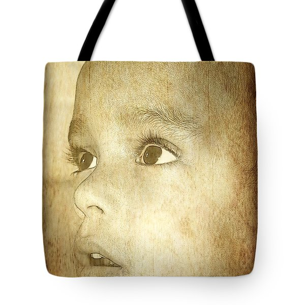 Tote Bag featuring the photograph Little Innocent by Ester  Rogers