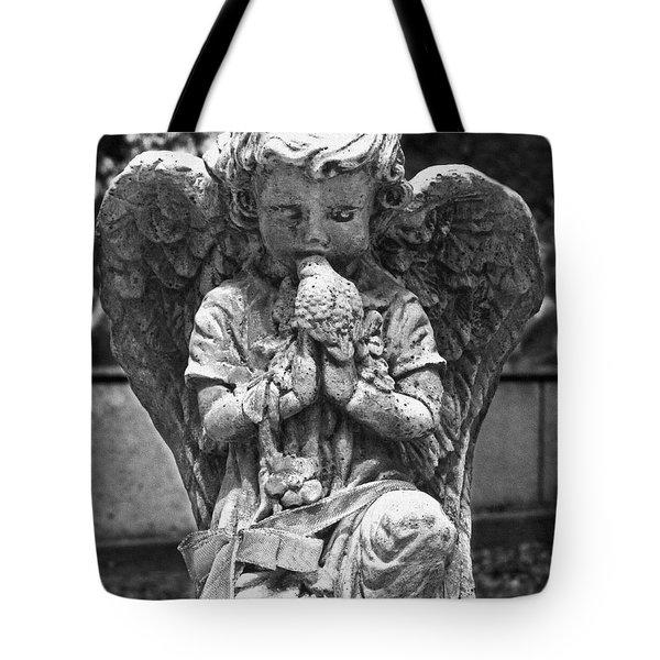 Little Kisses Bkwt Tote Bag by Peter Piatt