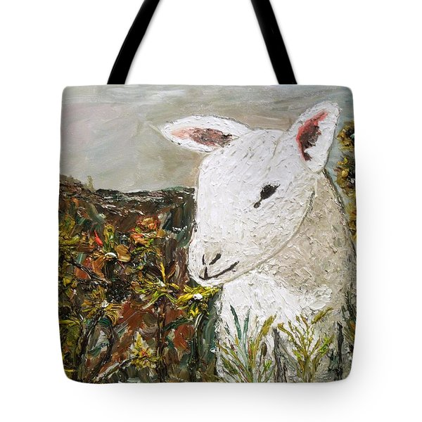 Little Lamb Tote Bag