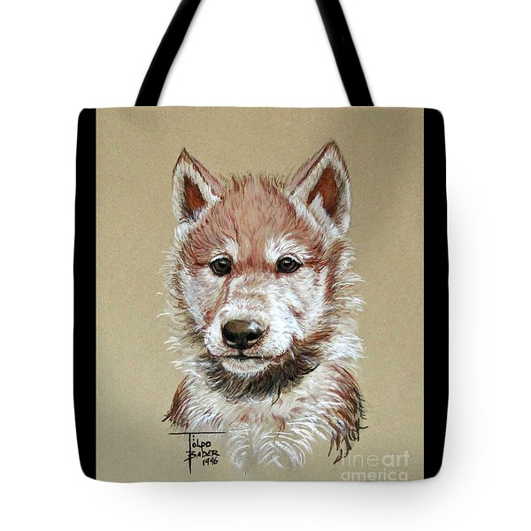 Little Lobo Tote Bag