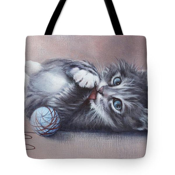 Little Mischief Tote Bag by Cynthia House