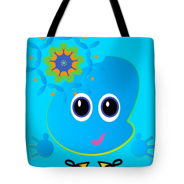 Little Mo Tote Bag by J Riley Johnson