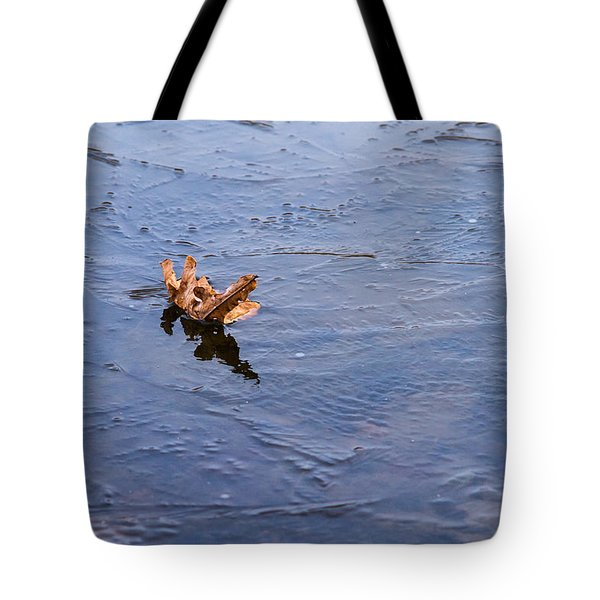 Little Navy - Fram In Pack Ice - Featured 3 Tote Bag by Alexander Senin