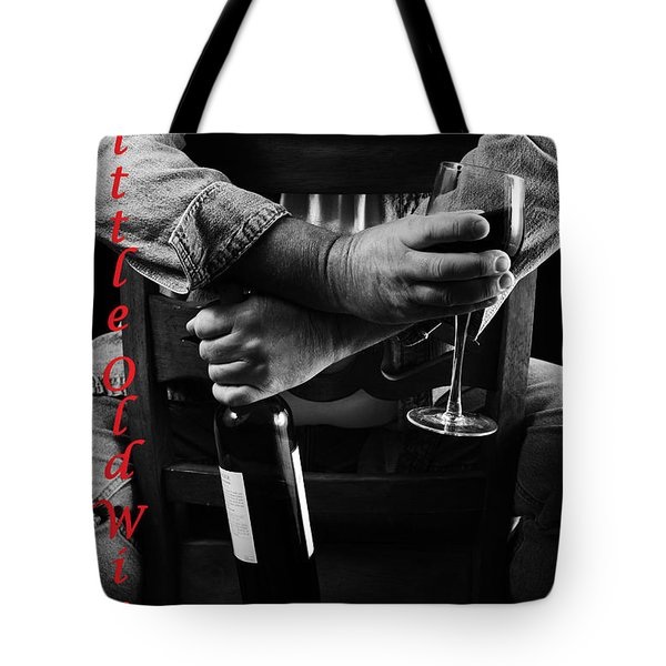 Little Old Wine Drinker Me Tote Bag