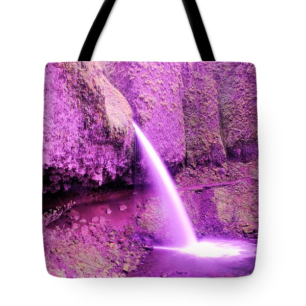 Little Pony Tail Falls  Tote Bag by Jeff Swan