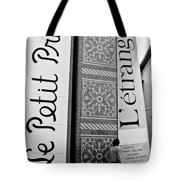 Little Prince And L'etranger Tote Bag