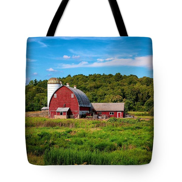 Little Red Barn Tote Bag