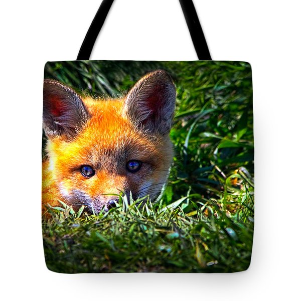Little Red Fox Tote Bag