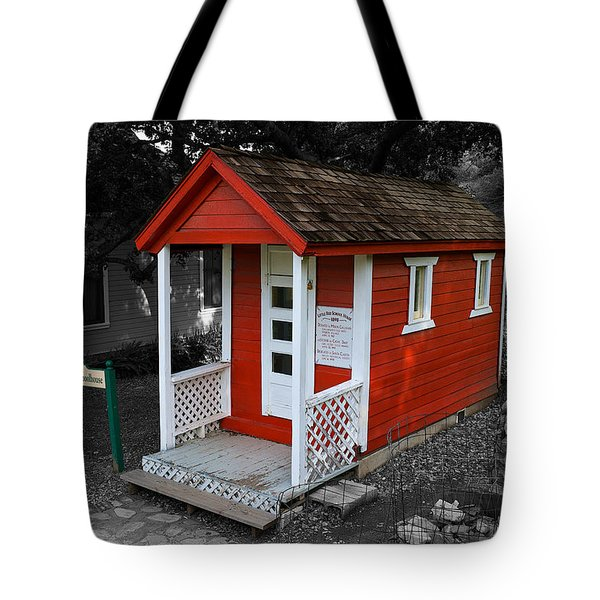 Little Red School House Tote Bag
