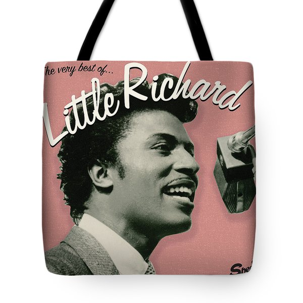 Little Richard -  The Very Best Of Tote Bag