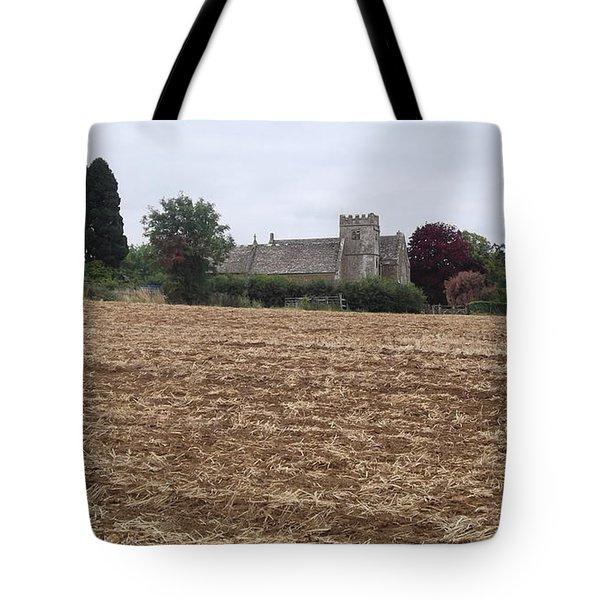 Little Rissington Church 2 Tote Bag by John Williams