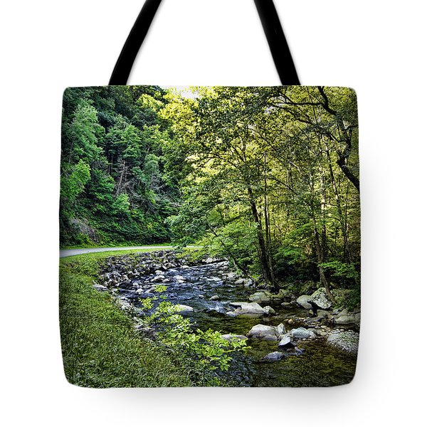 Little River Road Tote Bag