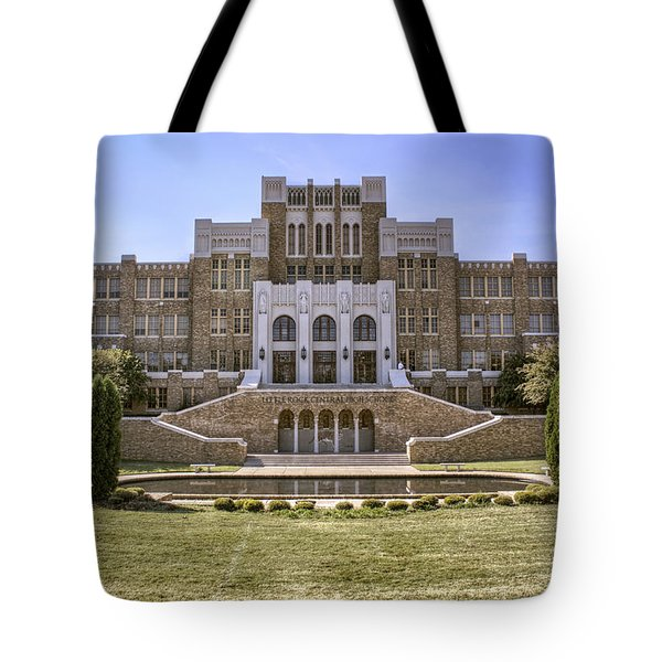 Little Rock Central High School Tote Bag