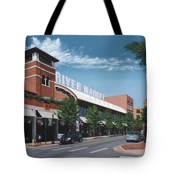 Little Rock River Market Tote Bag