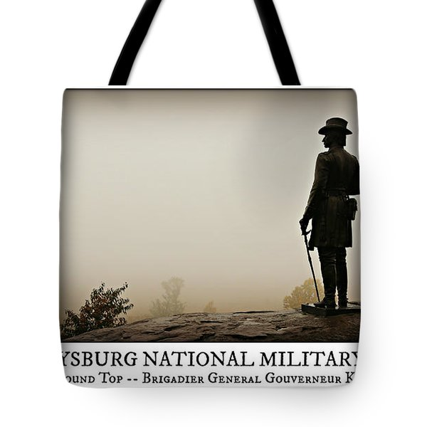 Little Round Top -- Poster Tote Bag