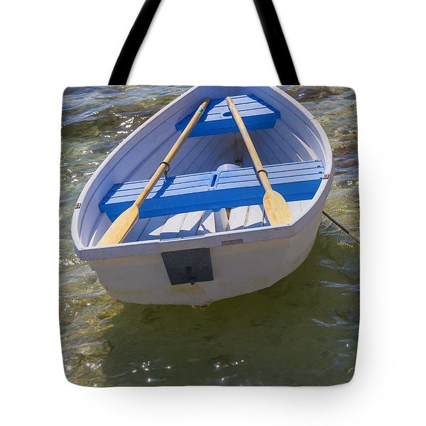 Little Rowboat Tote Bag by Verena Matthew