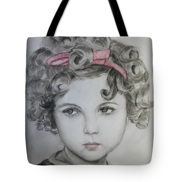 Little Shirley Temple Tote Bag by Kelly Mills